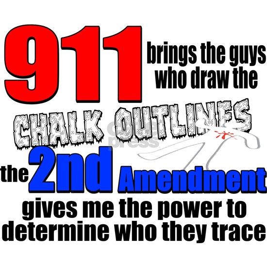 911 Chalk Outlines