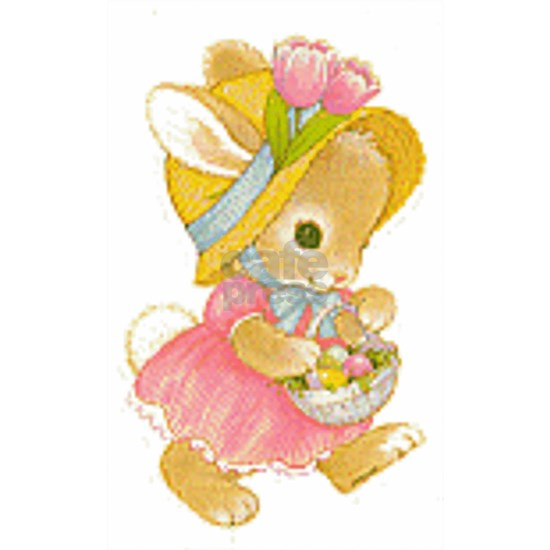 Vintage Cute Easter Day Bunny
