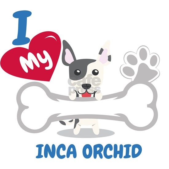 INCA ORCHID DOG LOVER