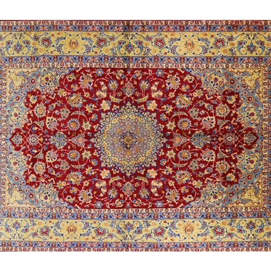 Red Gold Antique Persian