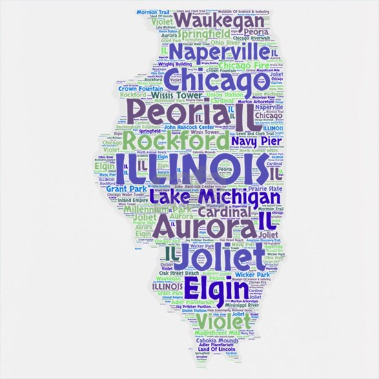 Illinois Word Cloud