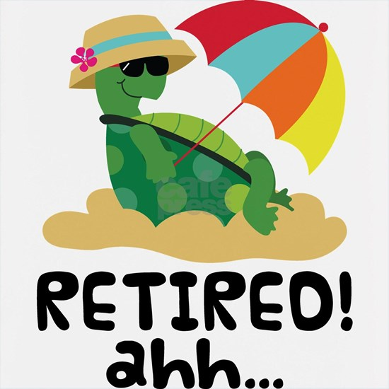Retired Relaxing Turtle
