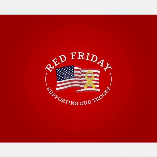 RED Friday Flag