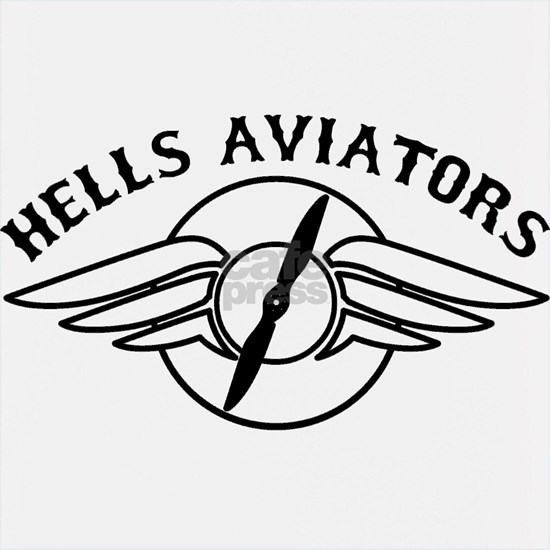 Hells Aviators Black