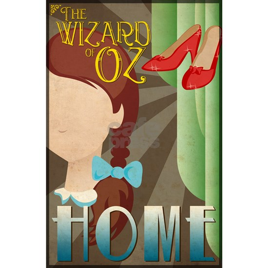 Wizard of Oz Dorothy Deco Poster Design