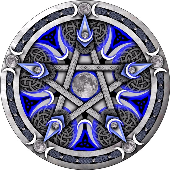 Pentacle of the Blue Moon