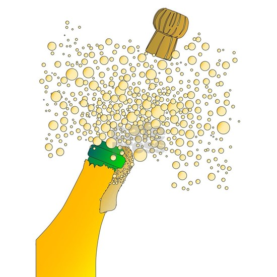 Bubbly Bottle And Cork