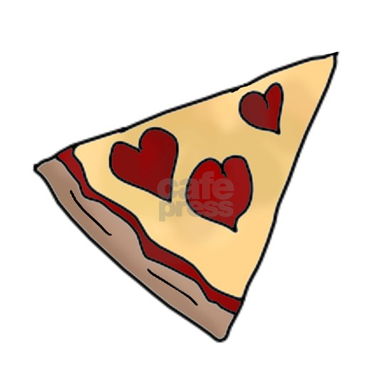 Piece of My Heart Pizza Slice Matching