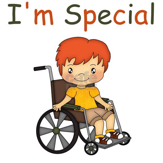 I'm Special - Wheelchair - Boy