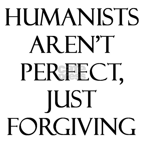 Humanists arent perfect white button v1