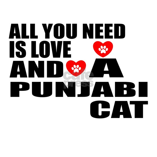 All You Need Is Love Punjabi Cat Designs