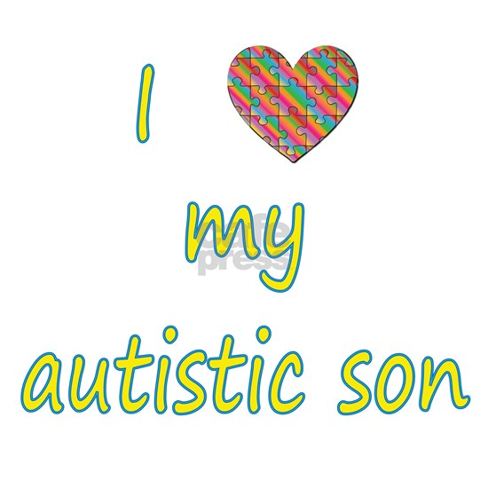 I love my autistic son (2)