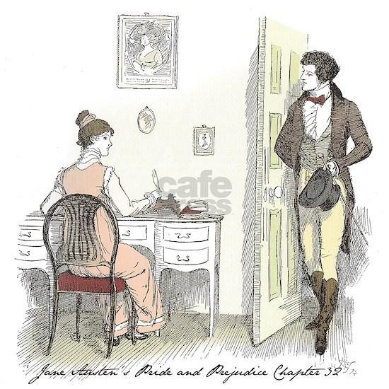 Mr. Darcy arrives at Hunsford ... Jane Austen P&P