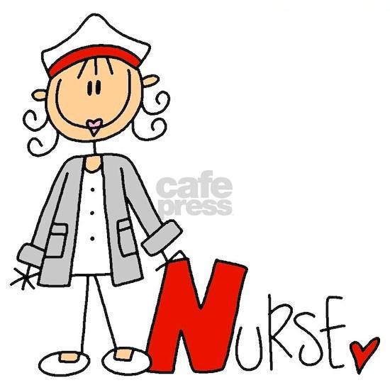 Stick Figure Nurse