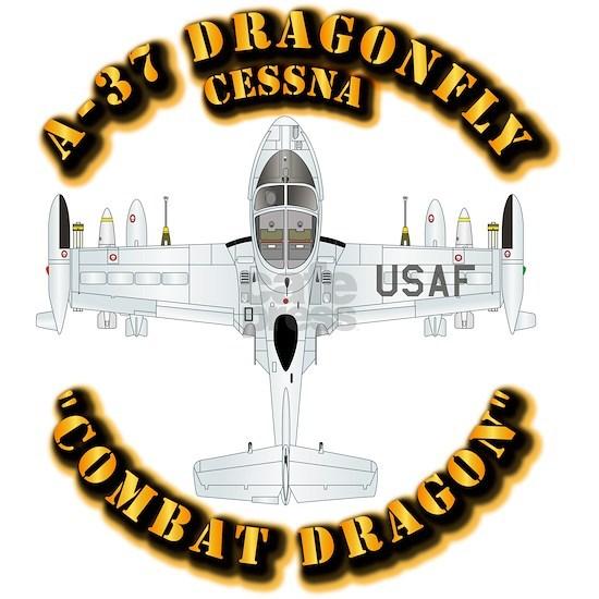 T-Shirt - A-37 Dragonfly - USAF