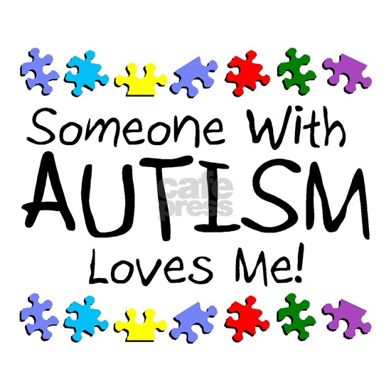 someone with autism loves me puzz