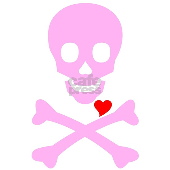 Pink Pirates heart