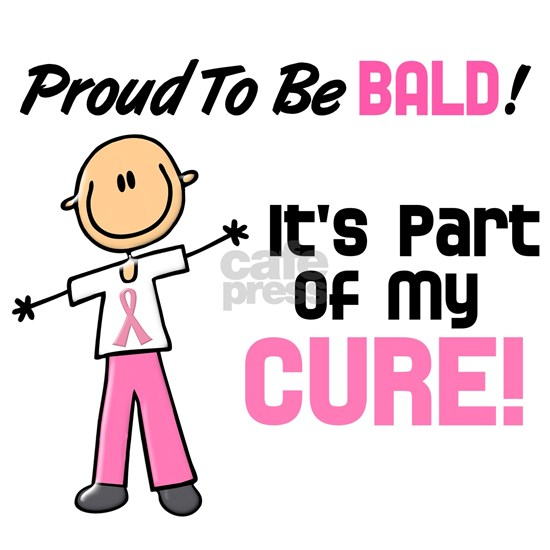 - Proud to be Bald Stick Figure Breast Cancer