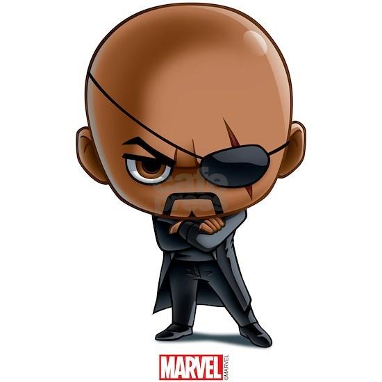 Chibi Nick Fury