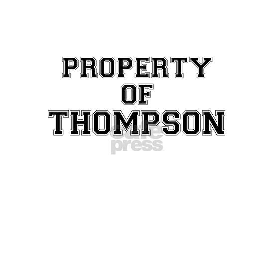 Property of THOMPSON