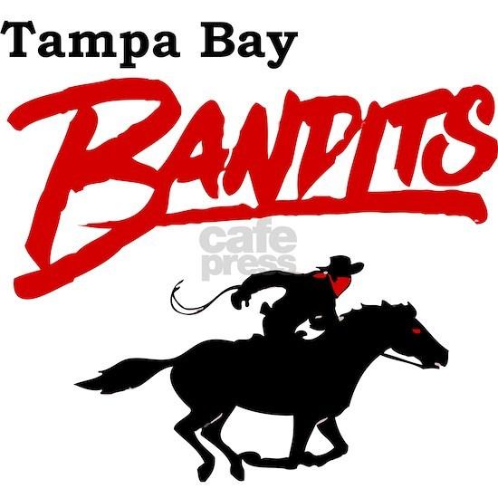 Tampa Bay Bandits Retro Logo