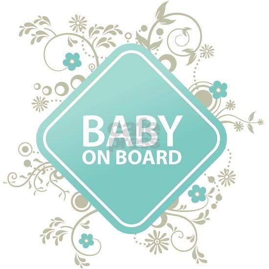 Baby on Board - Boy