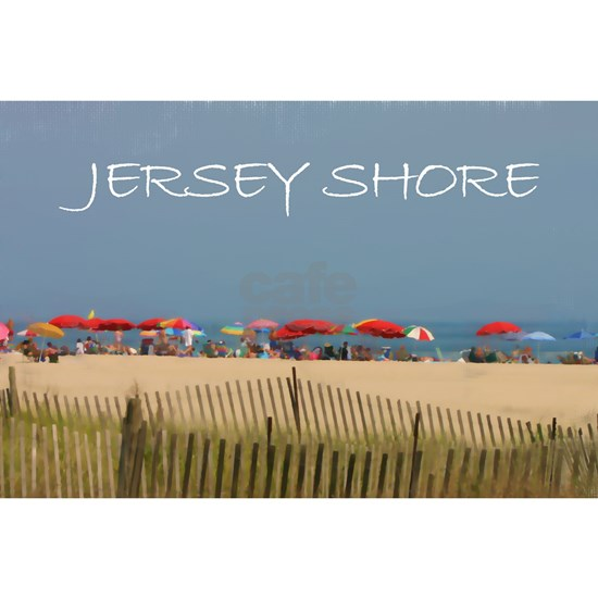 Jersey Shore Beach Umbrellas