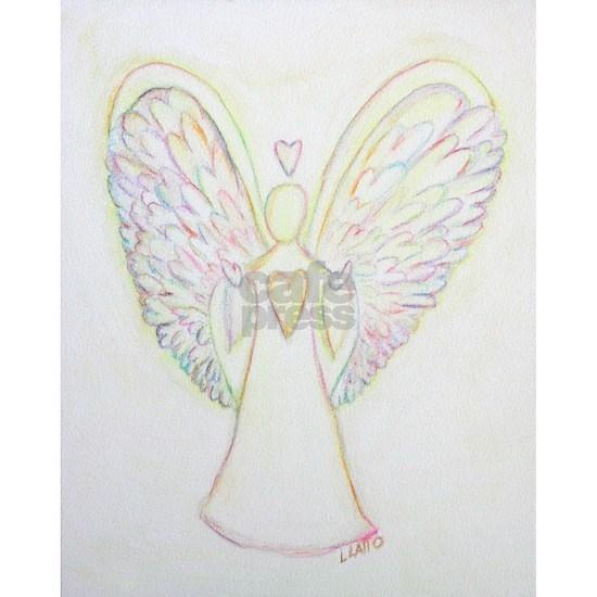 Rainbow Hearts Angel