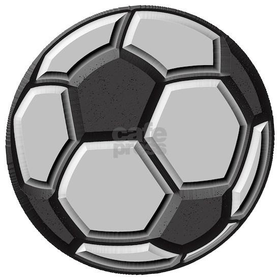 soccer art bevel greyscale 1