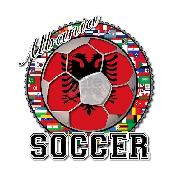 Albania Flag World Cup Soccer Ball