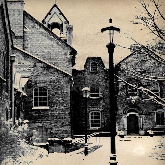 vintage church street light