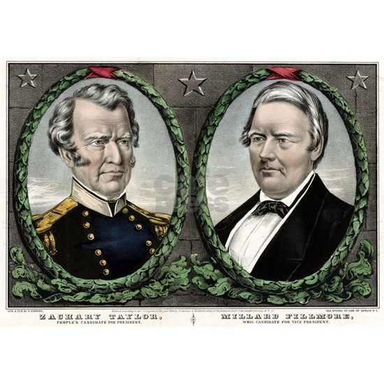 Zachary Taylor, people's candidate for President -