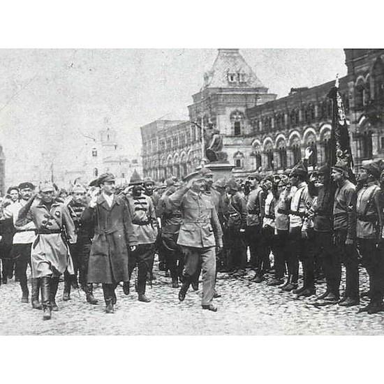 trotsky red army