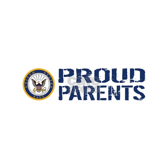 U.S. Navy: Proud Parents (Blue & White)