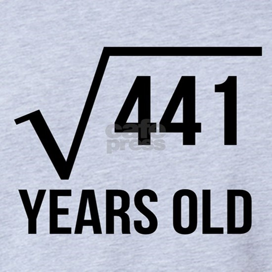 21 Years Old Square Root