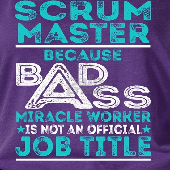 Scrum Master Badass Miracle Worker
