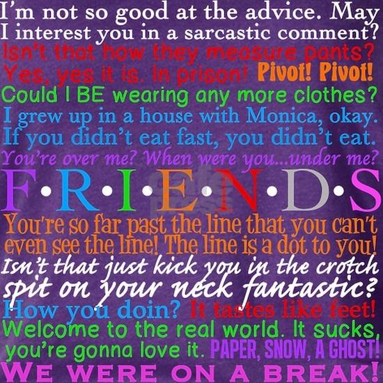 Friends TV Quotes
