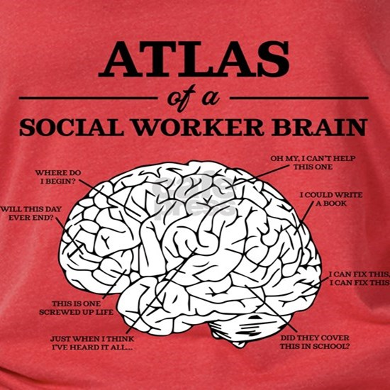 Atlas of a Social Worker Brain