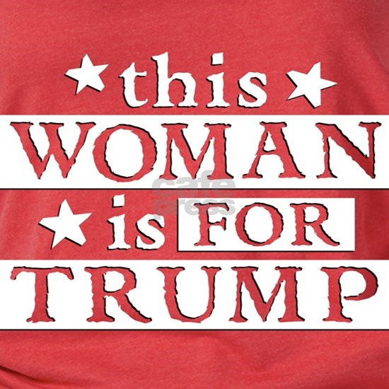 Woman for TRUMP