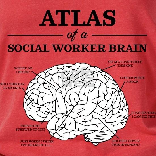 Atlas of a Social Worker Brain