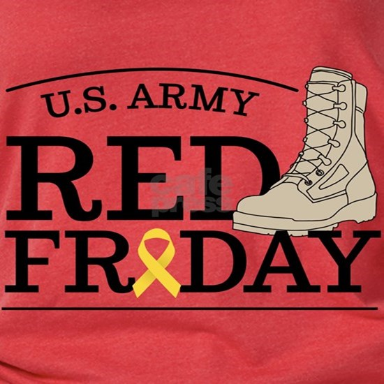 Army RED Friday Boot
