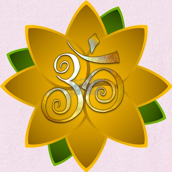 Solar Plexus Lotus with Aum