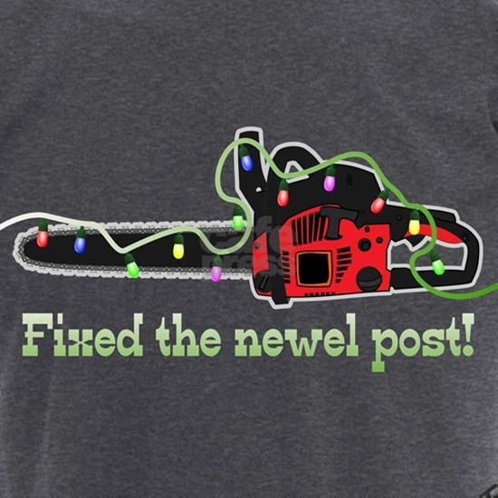 Fixed the newel post! Men's Charcoal Pajamas by Fixed the newel post! - CafePress