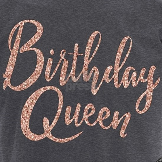 Birthday Queen Birthday for Women Rose Gold Birthd