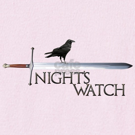 Nights Watch Raven Rusted Steel L