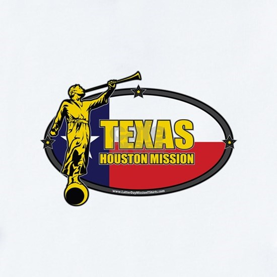 Texas Houston Mission - Texas Flag - LDS Mission -