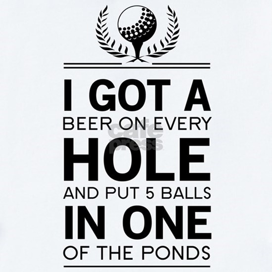 I got a hole in one ponds