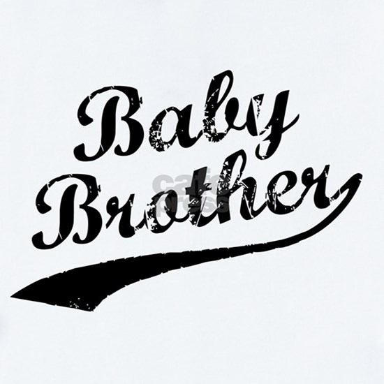 Baby Brother (Black Text)