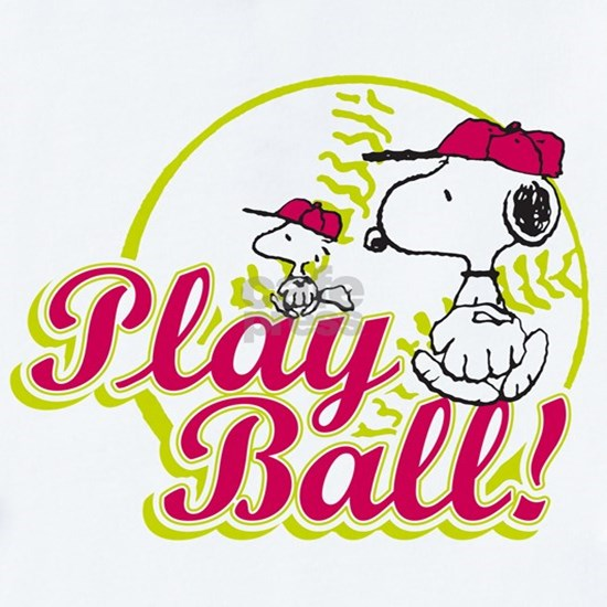 Snoopy - Play Ball