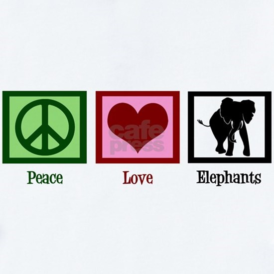 Peace Love Elephants